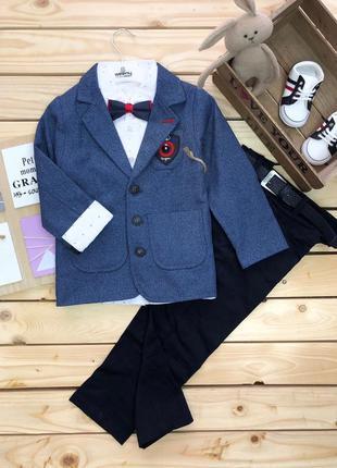 Детский костюм джентельмен праздничный для мальчиков