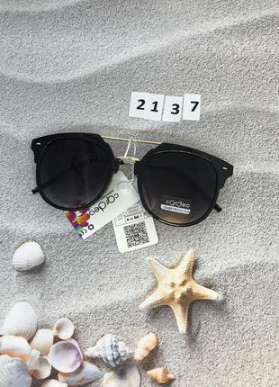 Солнцезащитные очки с черными линзами к. 2137