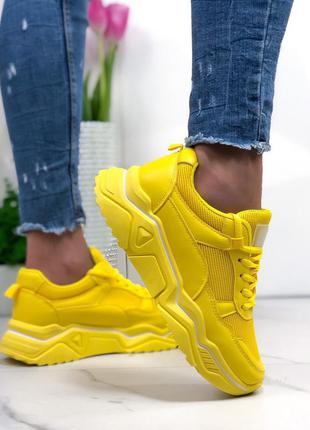 Желтые кроссы