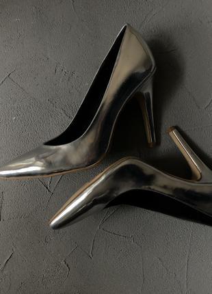 Туфли (серебро)