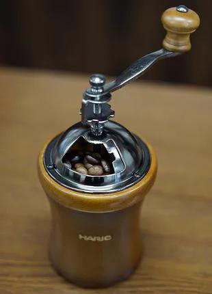 Ручная кофемолка Hario MCD-2 с регулировкой помола