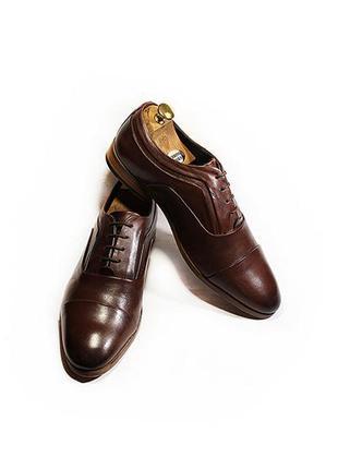 Мужские туфли оксфорды asos кожа