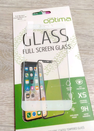 Xiaomi Redmi 4x защитное стекло