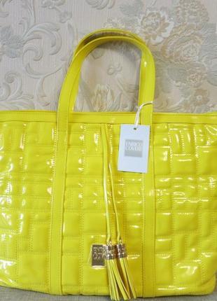 Яркие модные сумочки на лето, цвета желтый, розовый