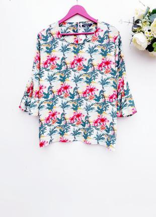 Ексклюзивная блуза блузка большой размер батал блуза с натурал...
