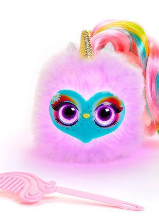 Интерактивная игрушка Pomsies Lumies Единорог Спаркл, Оригинал