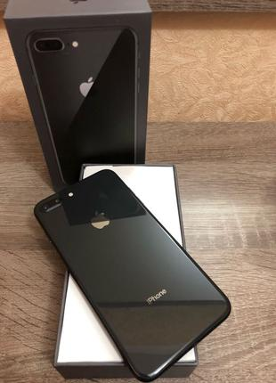 Apple iPhone 8 Plus 64gb Space Gray Neverlock смартфон б/у