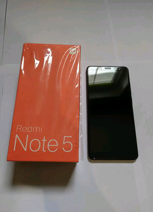 Redmi note 5(3/32) black