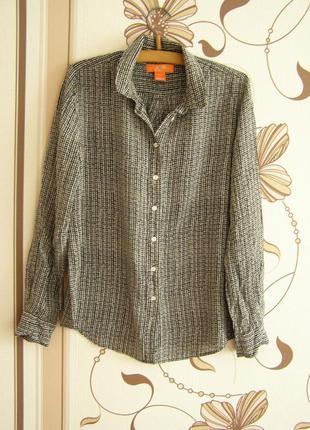Рубашка joefresh, 100% шелк, р.м