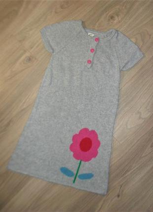 Теплое платье - сарафан на 9-10лет