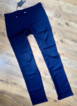 Мужские брюки отличная посадка синие