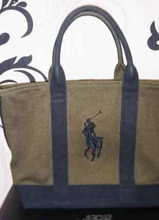 Тканевая сумка поло ralph lauren polo