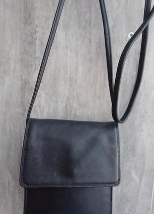 Кожаная сумочка кроссбоди tula