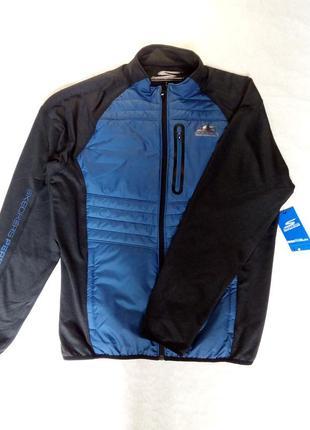 Чоловіча спортивна кофта skechers trails hybrid jacket pl ориг...