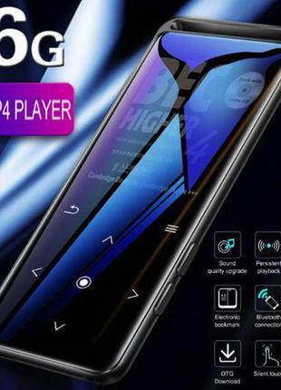 Новый MP3 плеер BENJIE M6 16Гб/FM радио/диктофон/металлический...