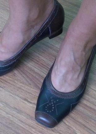 Кожаные туфли ara. 38 - 38, 5р. распродажа