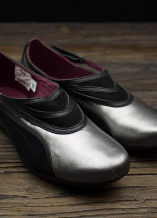 Женские кожаные кроссовки puma tux 344351 02 оригинал р-37