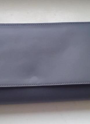 Кожаный клатч - кошелек. новый