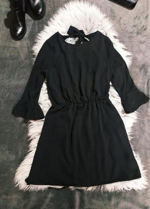 Черное платье papaya