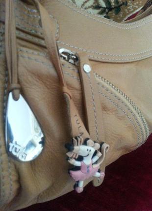 Кожаная сумочка на лето tula