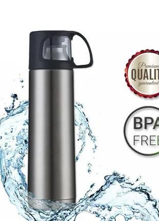 Термос DEXT BPA Free вакуумный из нержавеющей стали 700 мл Дроп и
