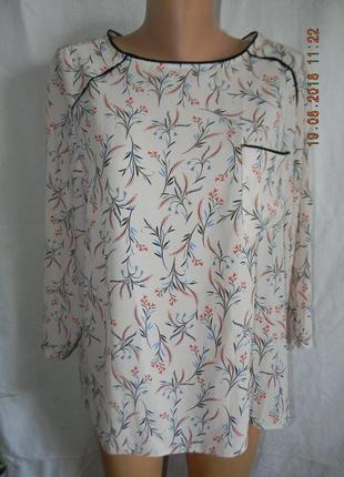 Красивая блуза с принтом primark