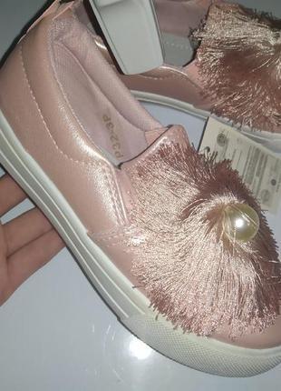 Мокасины туфли весна слипоны