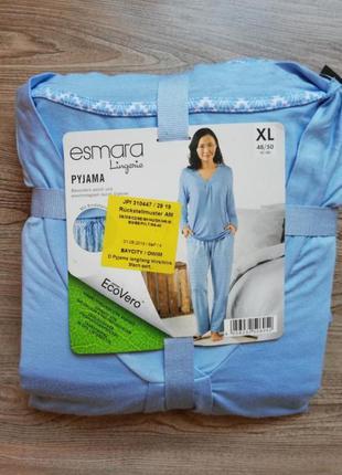Нежная пижама реглан и штаны esmara xl
