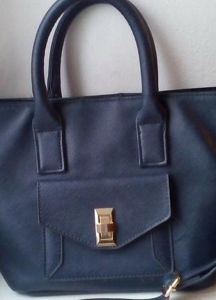 Симпатичная сумка с длинным ремнем f&f
