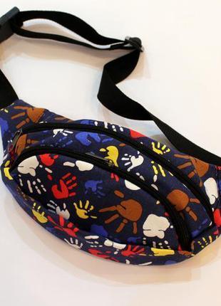 Барсетка, бананка, барыжка, поясная сумка, сумка на пояс, конд...