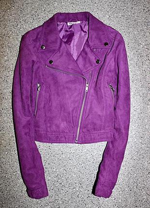 Куртка косуха под замш одежда девочка h&m
