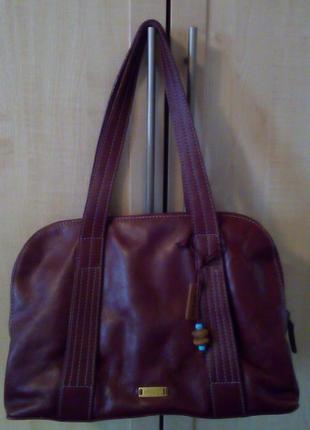 Кожаная сумка hidesign