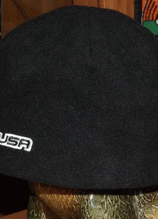 Флисовая шапка scott usa