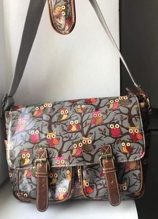Классная сумка с длинным ремнем