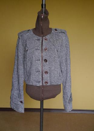 Куртка з шерстю на 46 євро розмір nolita