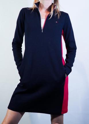 Спортивное платье tommy hilfiger, стильное платье tommy hilfiger