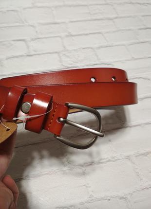 Женский кожаный ремень базовый пояс