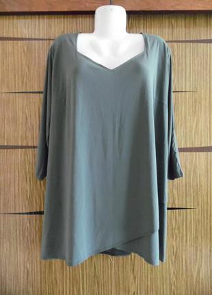 Блуза бaтал grace размер 26(54) – идет на 60-62-64.