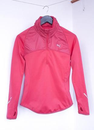 Кофта puma sport lifetyle свитер легкая куртка с капюшоном коф...