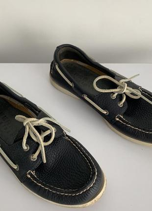 Мужские туфли, sperry top sider.
