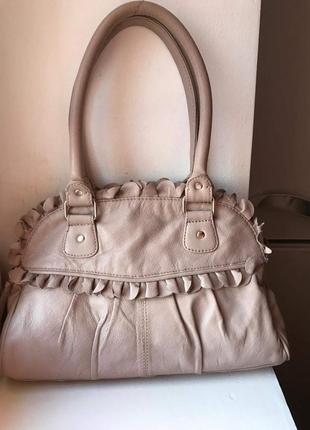 Кожаная сумка debenhams