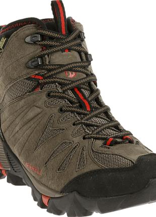 Треккинговые мужские ботинки merrell j32317 capra mid gore-tex...