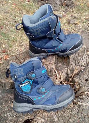Термо ботинки meekone, сапоги, сапожки, мембрана, зимние, на м...
