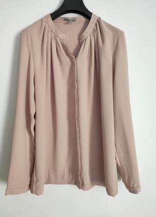 Нежная пудровая блуза cos