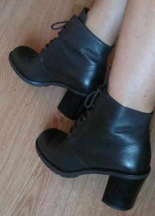 Кожаные ботинки dolci 38р.