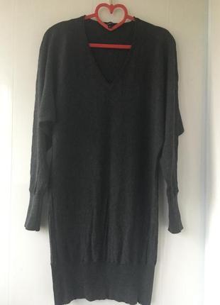 Франция! тёплое туника платье натуральная шерсть кашемир, axar...