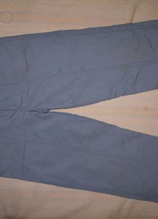 Детские утеплённые брюки для мальчика