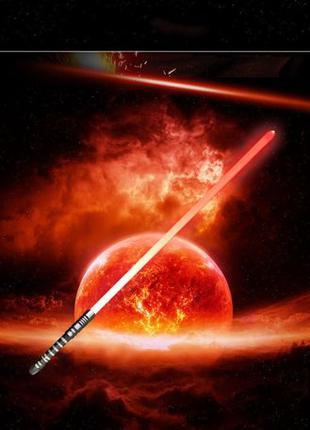 Джедайский меч 16 цветов в 1 \ звук \ Световая сабля\ Звездные...