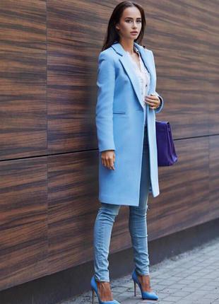 Новинка! Стильное женское пальто из кашемира с подкладкой