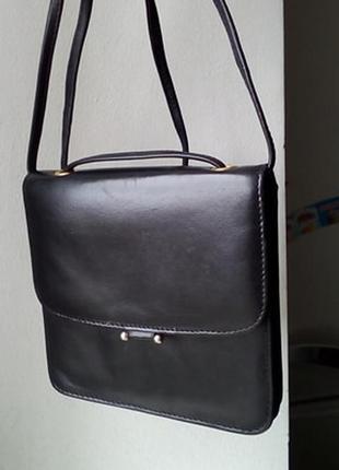 Кожаная сумочка кроссбоди. индия.
